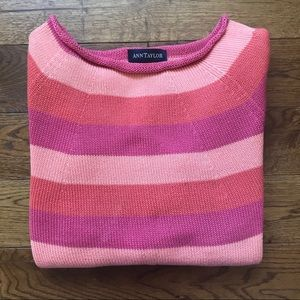 Ann Taylor striped sweater